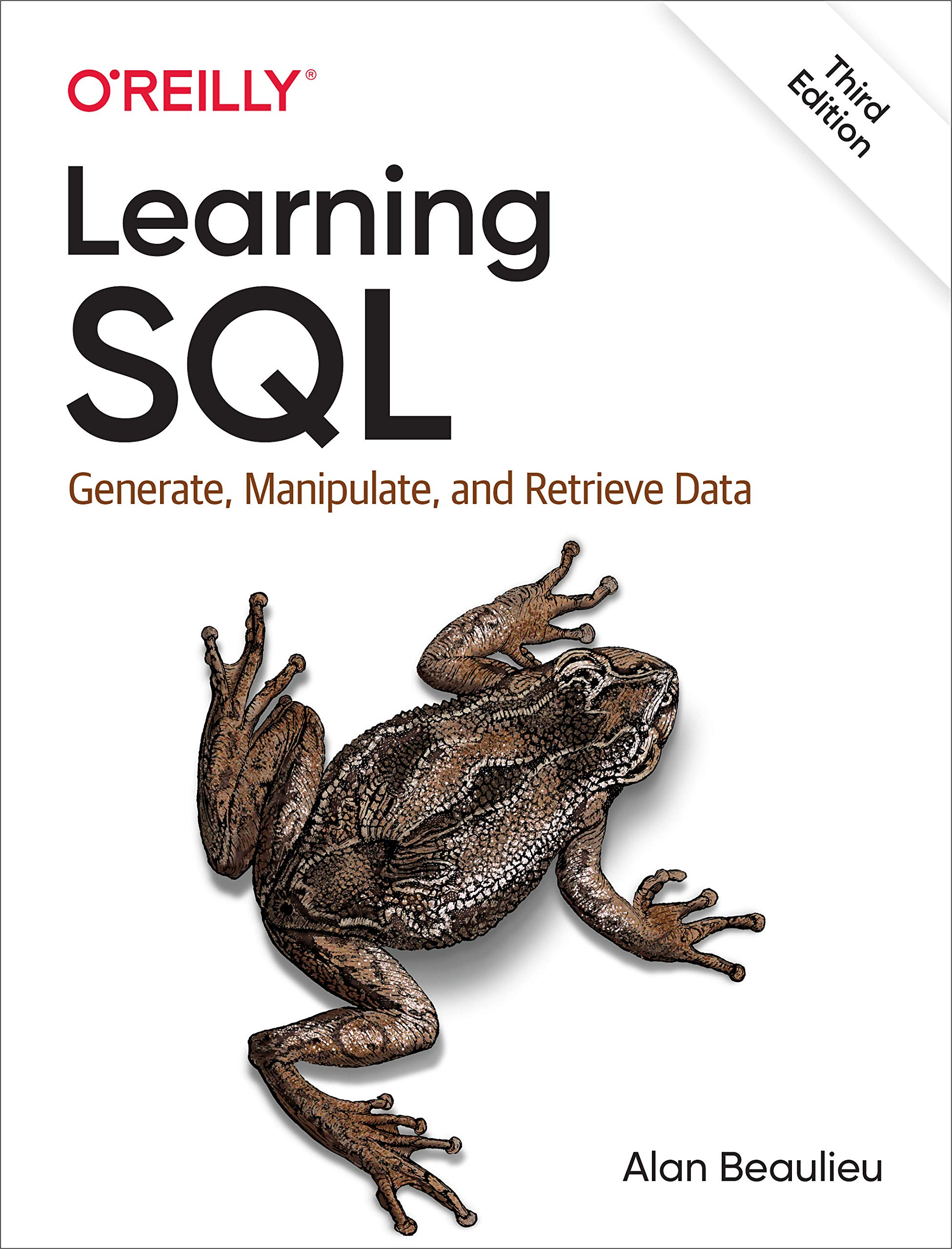 Book Cover of Learning SQL - Click to open book in a new window