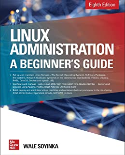 Book Cover of Linux Administration: a Beginner's Guide - Click to open book in a new window