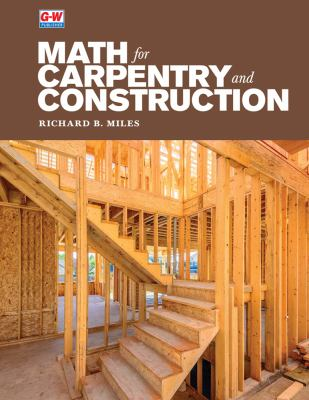 Book Cover of Math for Carpentry and Construction - Click to open book in a new window