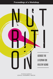 Book Cover of Nutrition Across the Lifespan for Healthy Aging : Proceedings of a Workshop - Click to open book in a new window