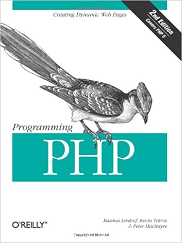 Book Cover of Programming PHP - Click to open book in a new window