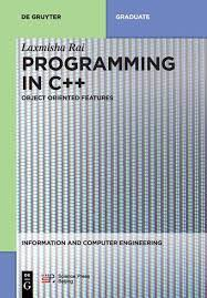 Book Cover of Programming in C++ : object-oriented features - Click to open book in a new window