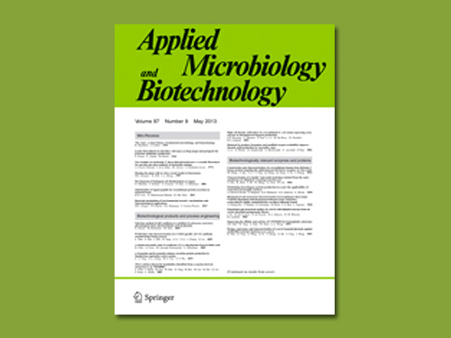 Book Cover of Applied Microbiology and Biotechnology - Click to open book in a new window