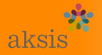 Logo for aksis