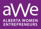 Logo for Alberta Women Entrepreneurs