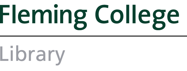 Fleming College Library Logo
