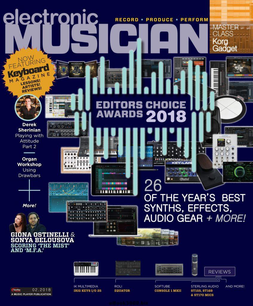 Electronic Musician Magazine cover art