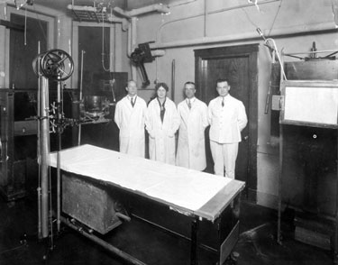 X-Ray Department - 1926