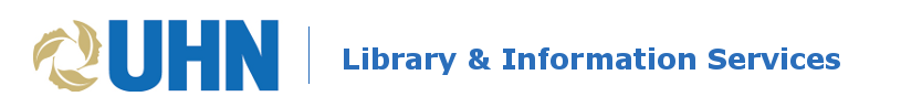 UHN Library logo