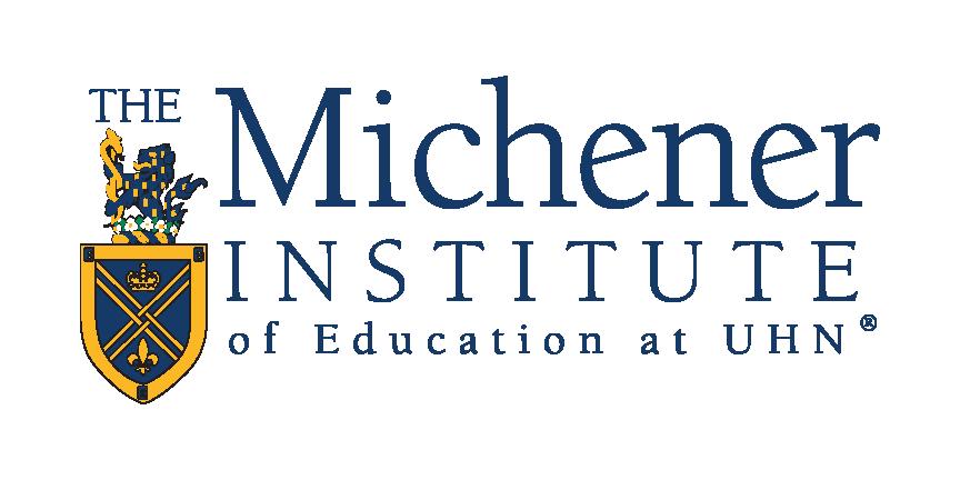 Michener Institute of Education @UHN logo