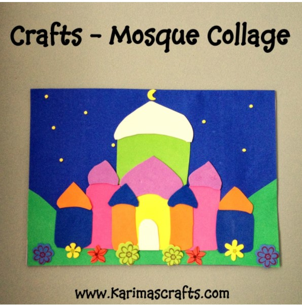 Mosque Collage