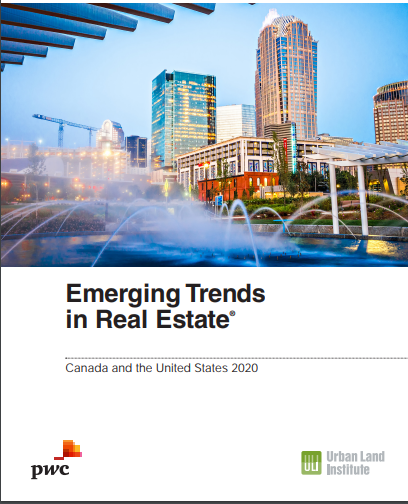 Emerging Trends in Real Estate: Canada and U.S. 2018
