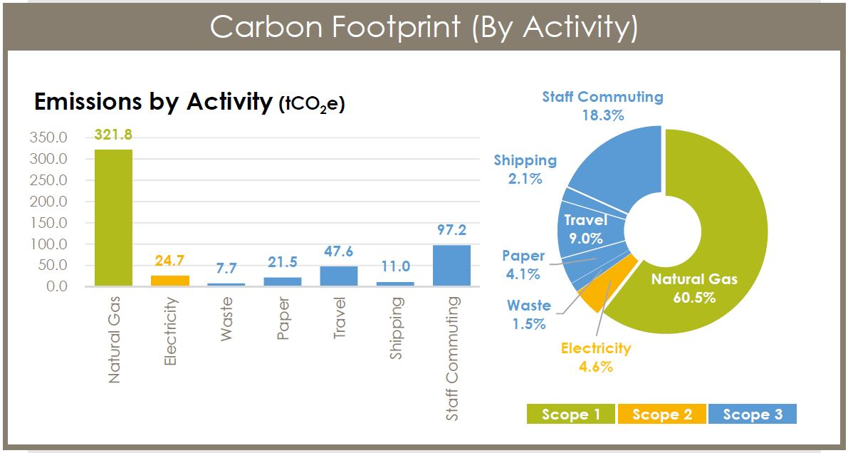 Carbon Footprint by Activity