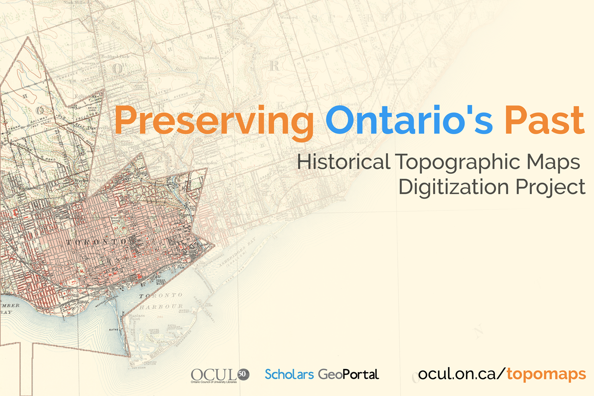 OCUL Historical Map Digitization Project promo