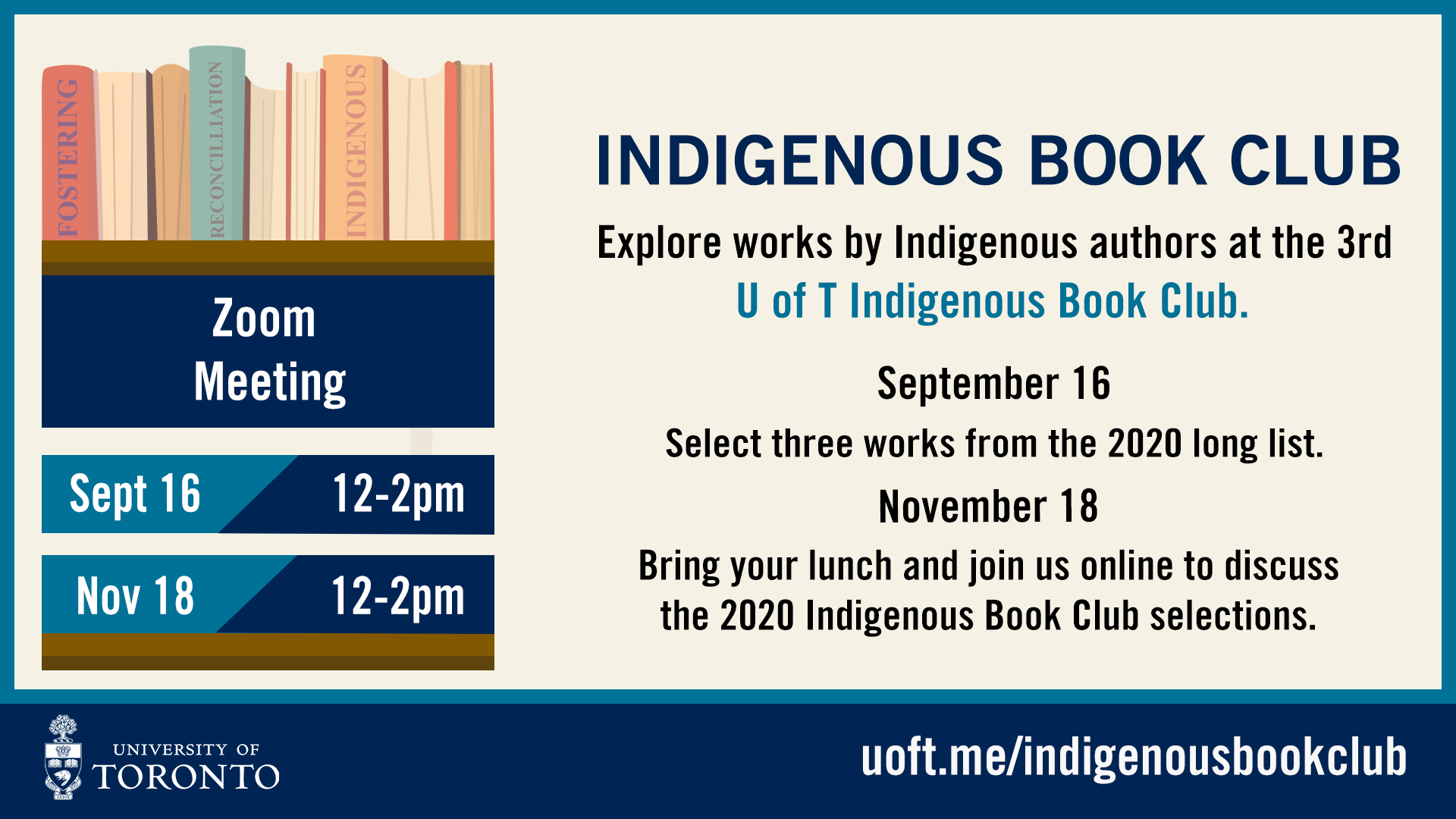 Indigenous Book Club Banner Fall 2020