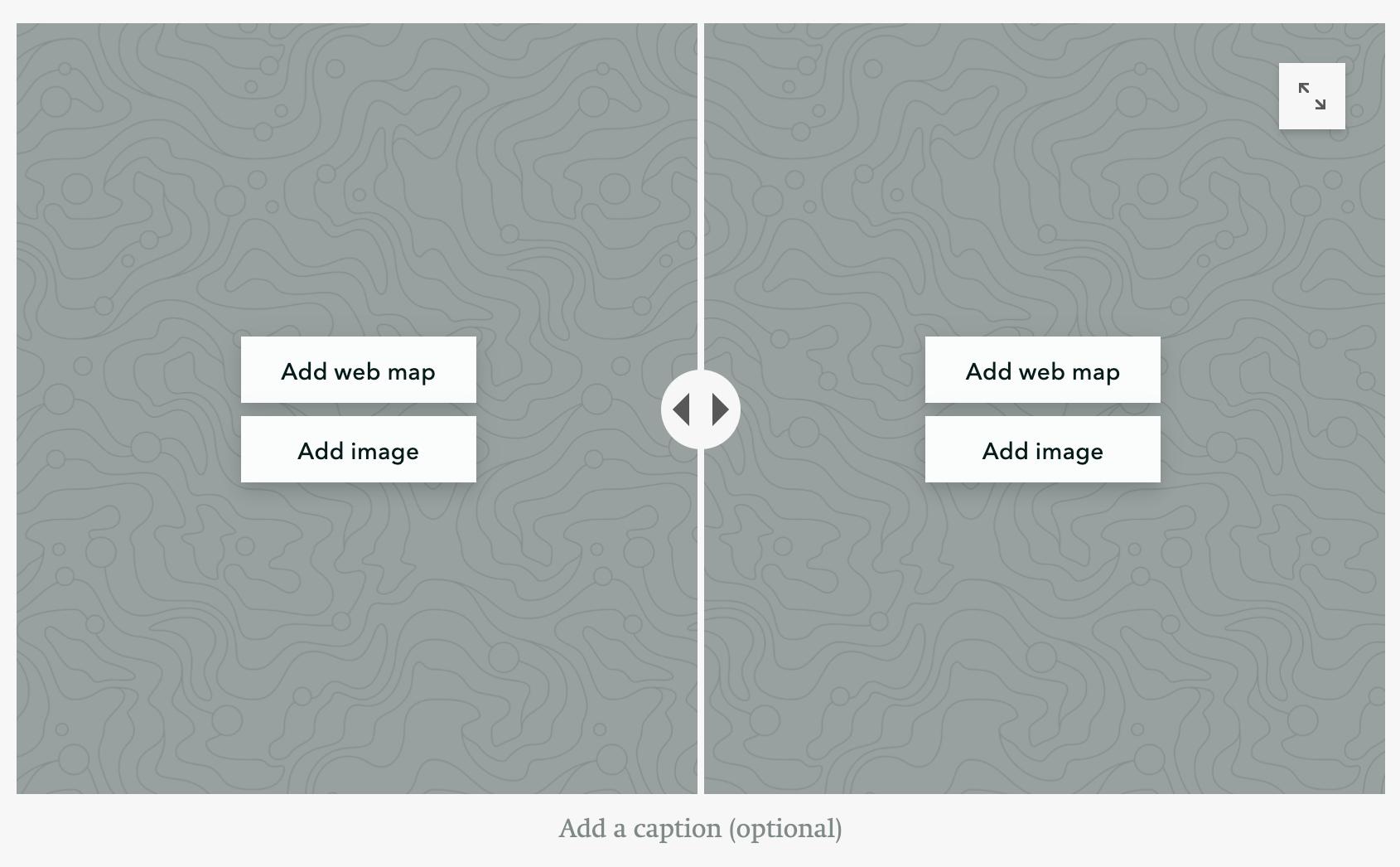 Slider feature in StoryMaps