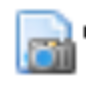 Zotero Icon for Snapshot - camera and webpage
