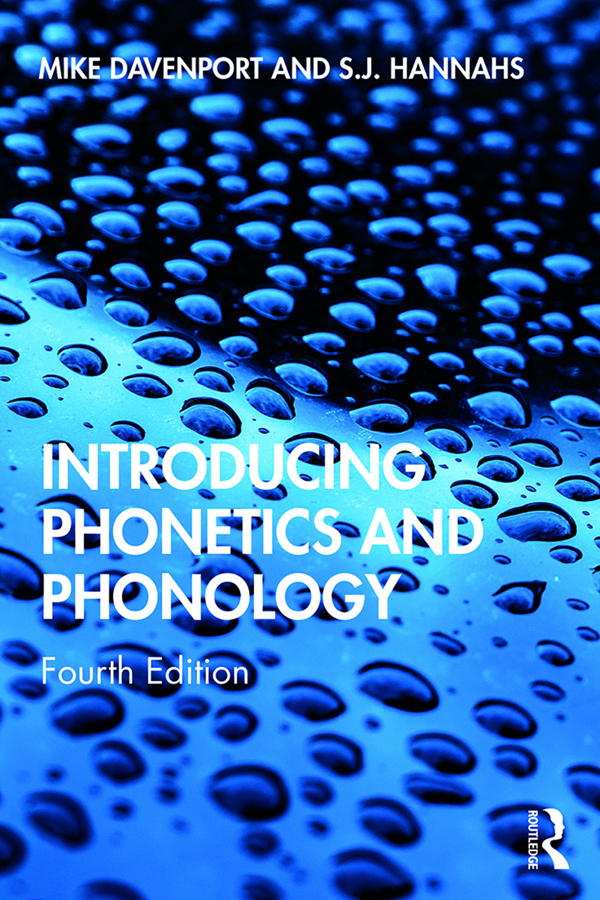 Introducing phonetics and phonology  cover