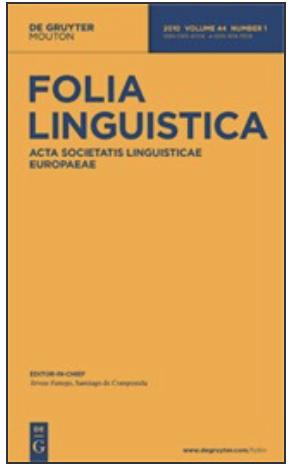 Folia Linguistica