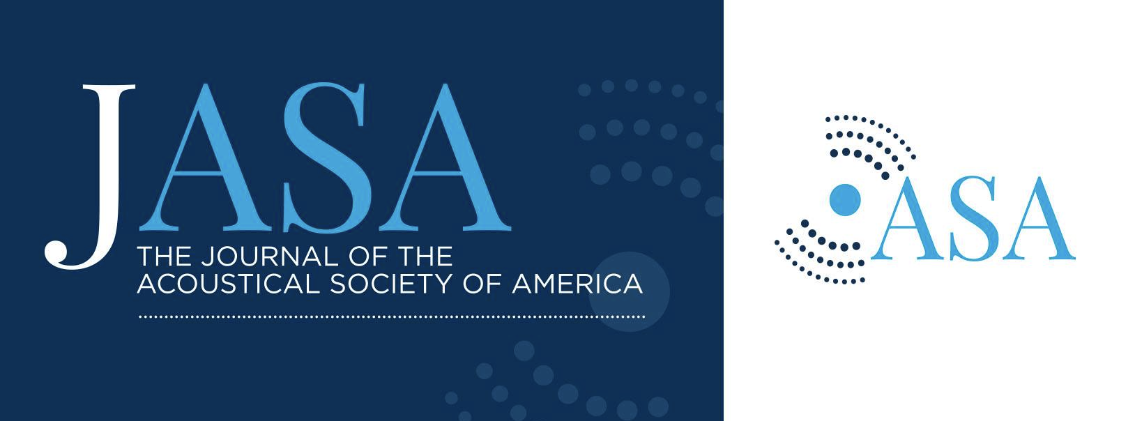 The Journal of the Acoustical Society of America  cover