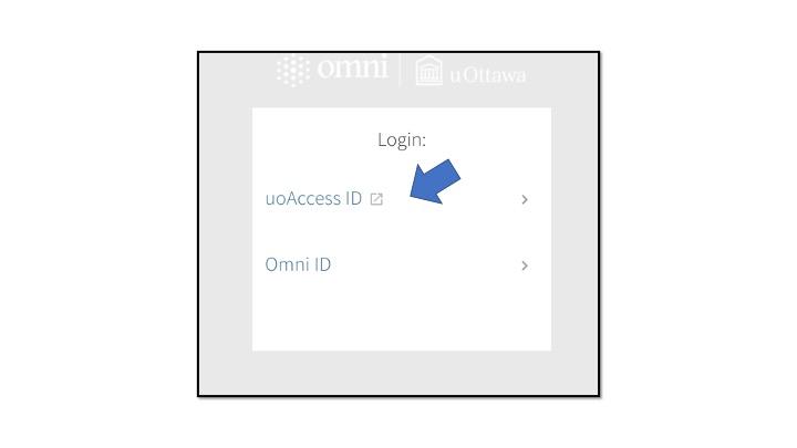 Screenshot of uoAccess ID