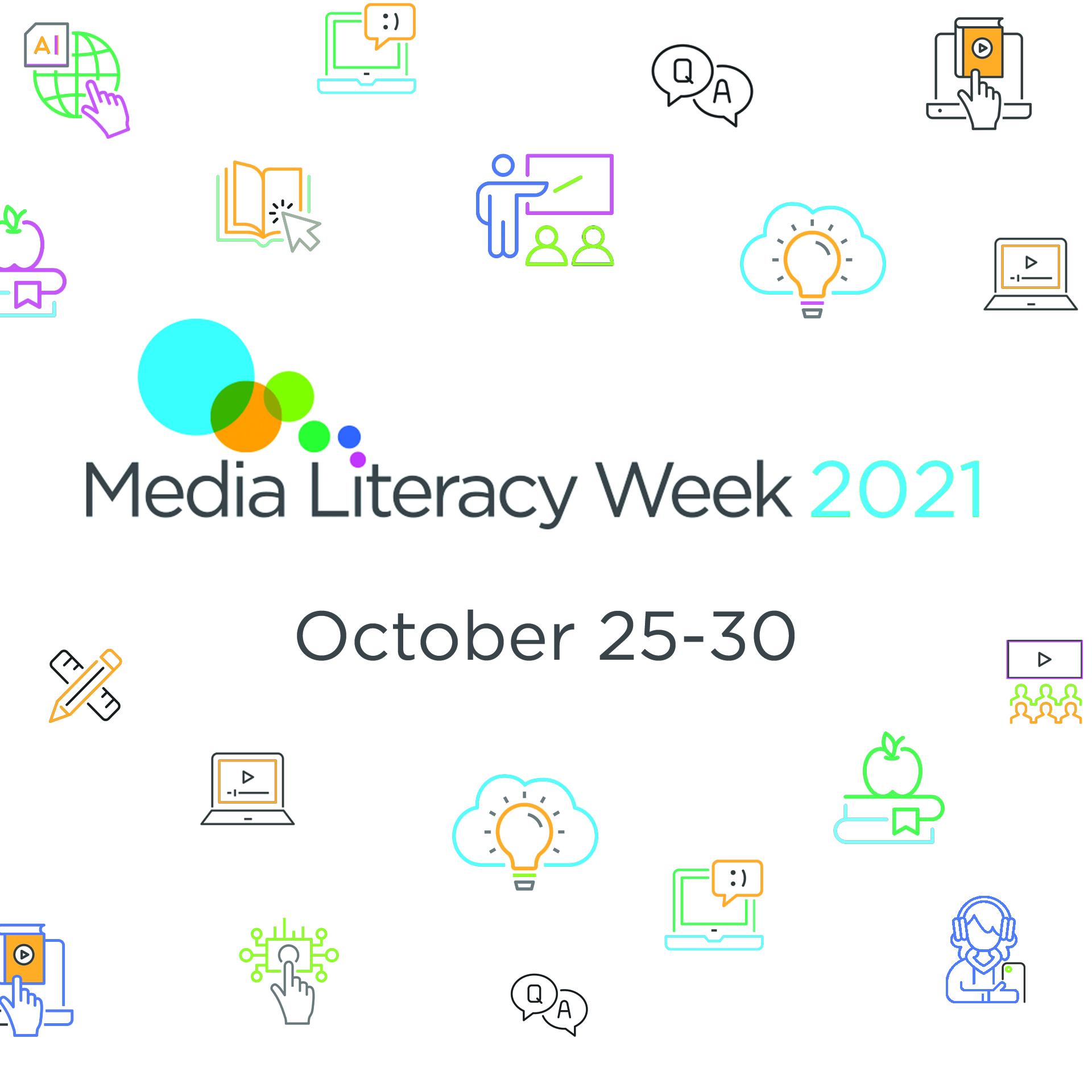 Media Literacy Week 2021, October 25-30