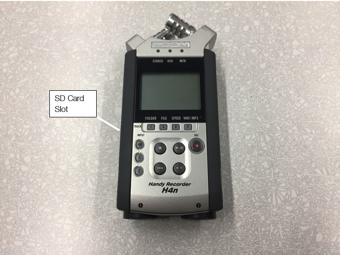 Zoom H four N audio recorder