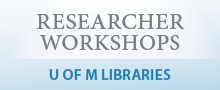 Researcher Workshop Series (logo)