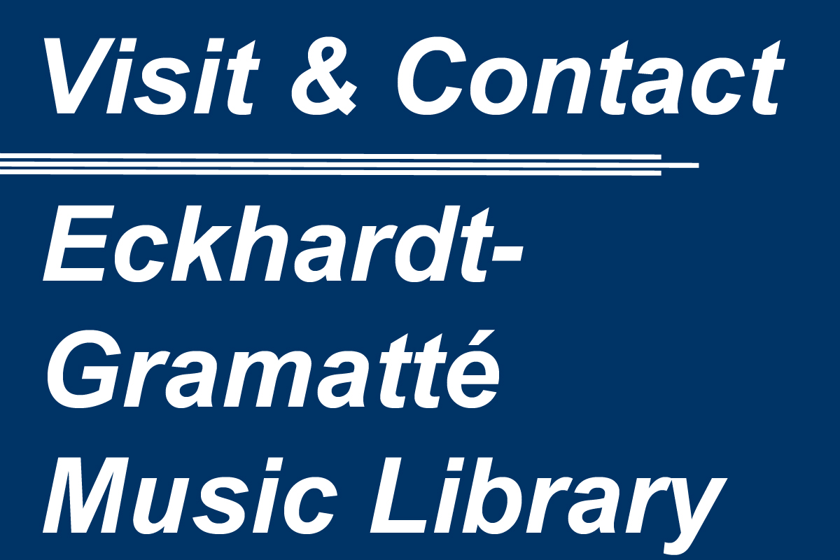 Music Library Contact