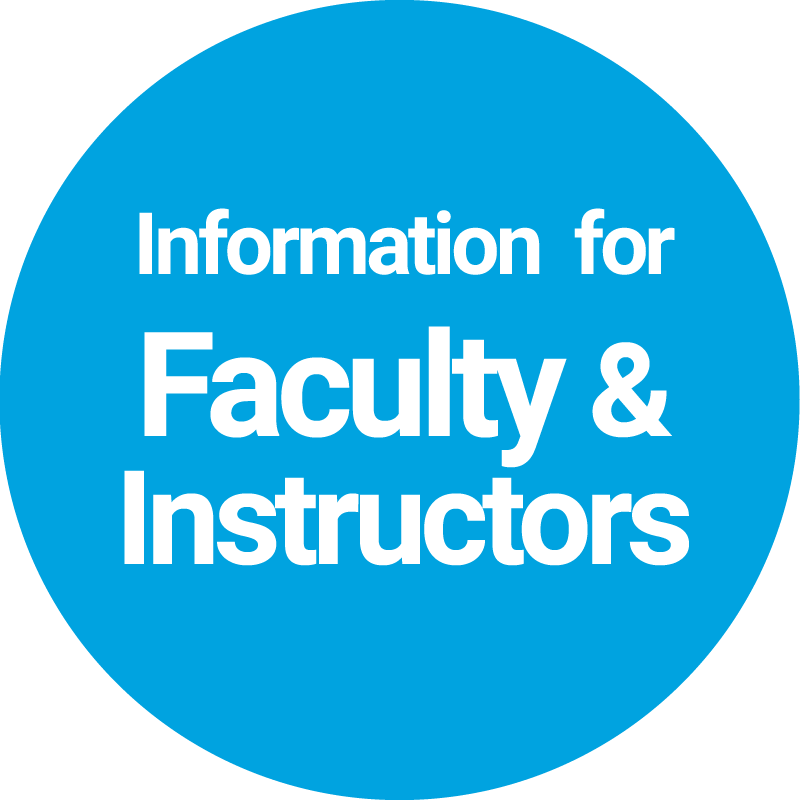 Information for Faculty & Instructors