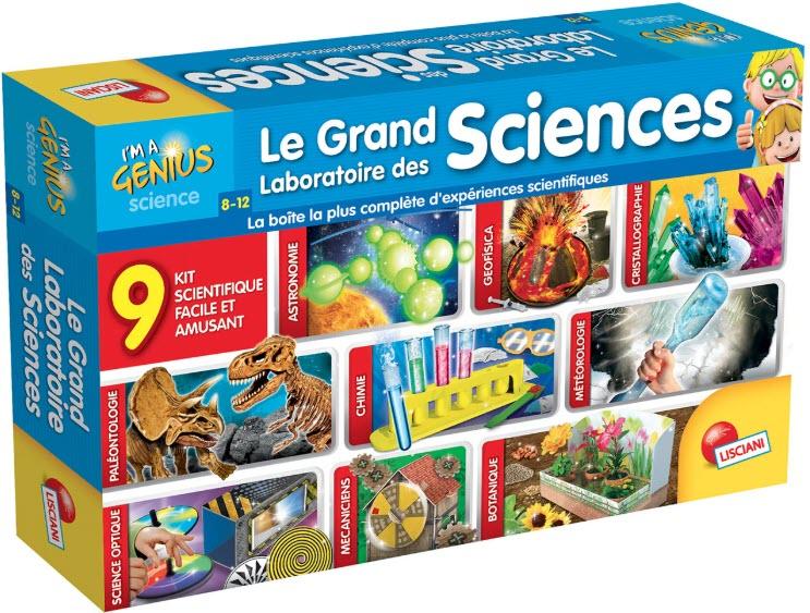 Le grand labo des sciences