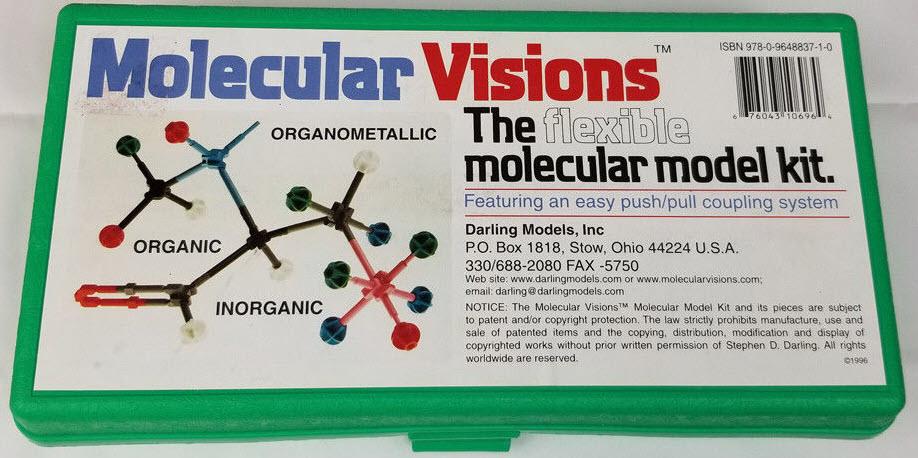 flexible molecular model kit