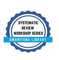 logo for systemtic review workshop series