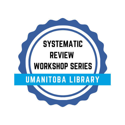 Systematic Review Workshop Series