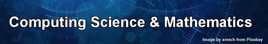 Computing Science & Mathematics heading