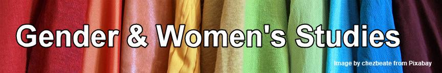 Gender and Women's Studies heading
