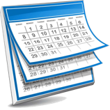 clipart of calendar
