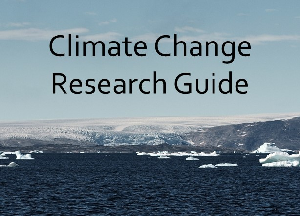Climate Change Research Guide