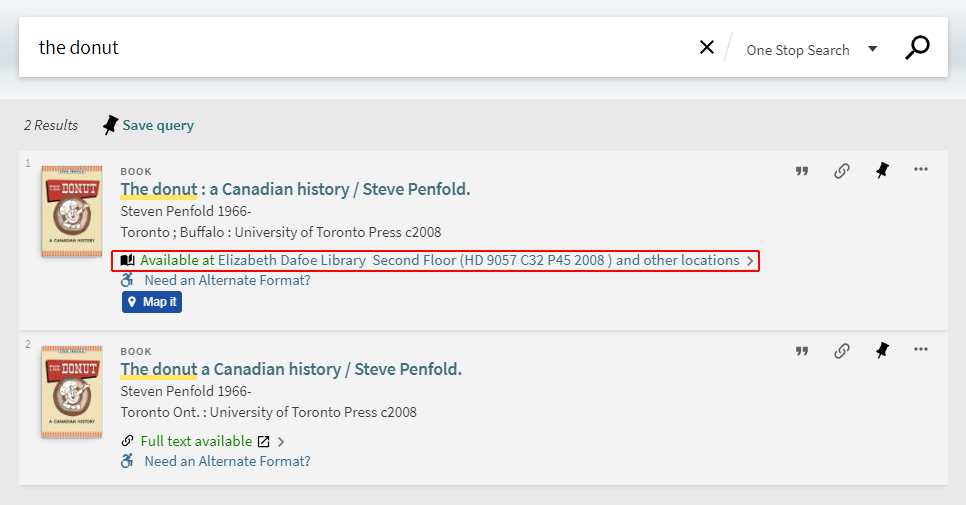 Request materials one stop search help libguides at university click on the available at link to be brought to the items availability section thecheapjerseys Image collections