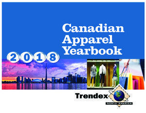 Trendex Canadian Apparel yearbook 2018 cover