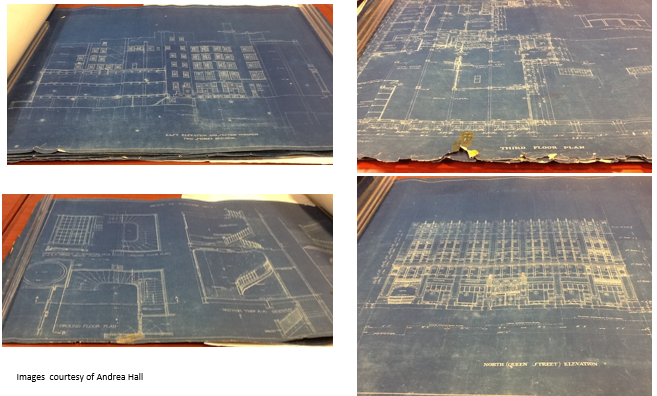 blueprints from 299 Queen St. West