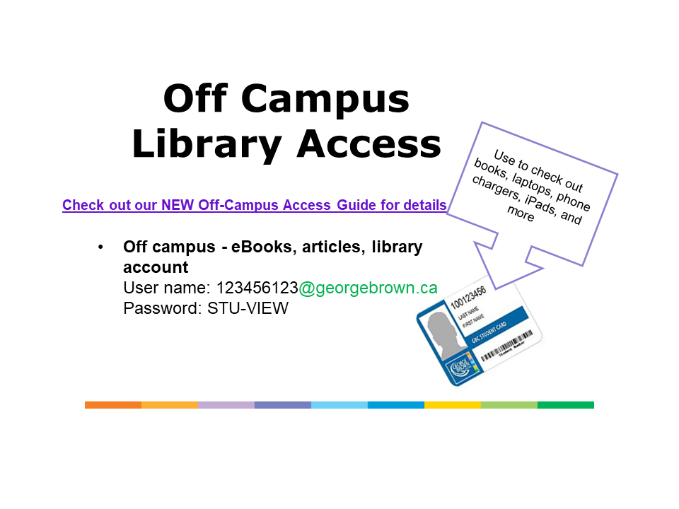 off campus access login instructions