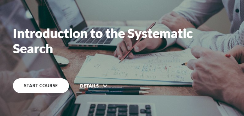 Introduction to the Systematic Search module in the Online Learning Object Repository