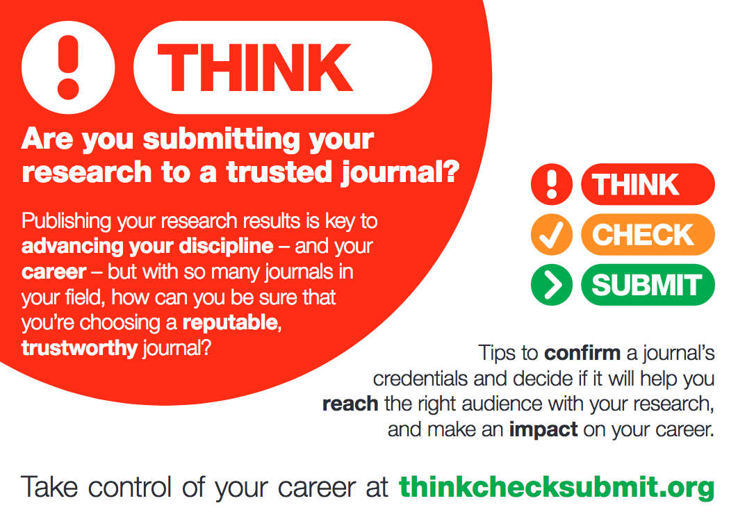 think check submit poster