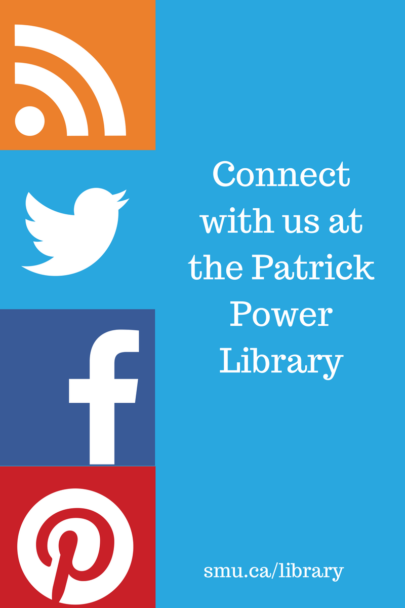 Use Twitter, Facebook, Pinterest, and the Blog for latest news at the library