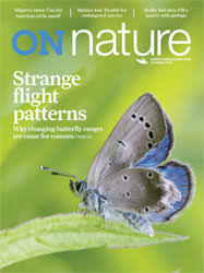 on nature journal cover