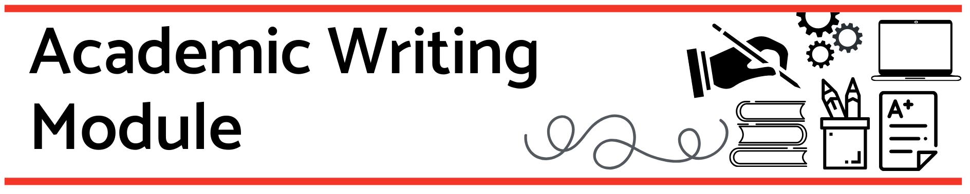 Academic writing banner