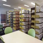Interior of Library Archives