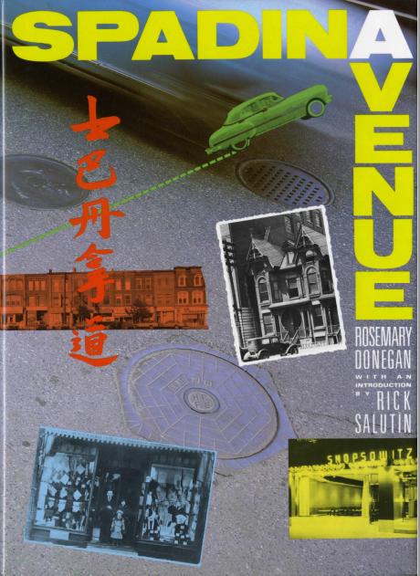 Cover image of Donegan, Rosemary (1985) Spadina Avenue.