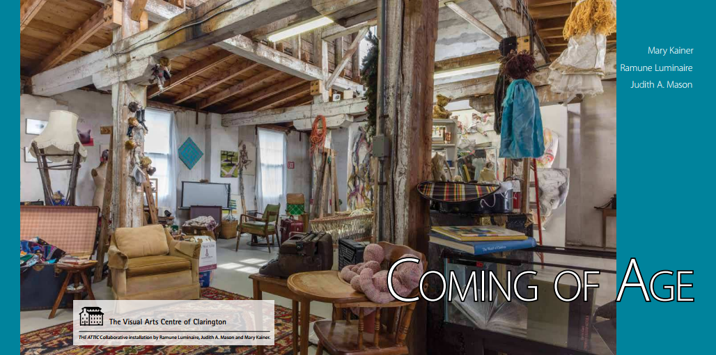 Cover image of Coming of age [Exhibition catalogue]. The Visual Arts Centre of Clarington